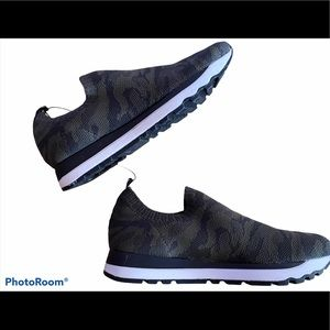 DKNY Camo Slip on Sneakers Size 8